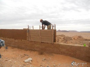 Así construimos nuestra Kasbah